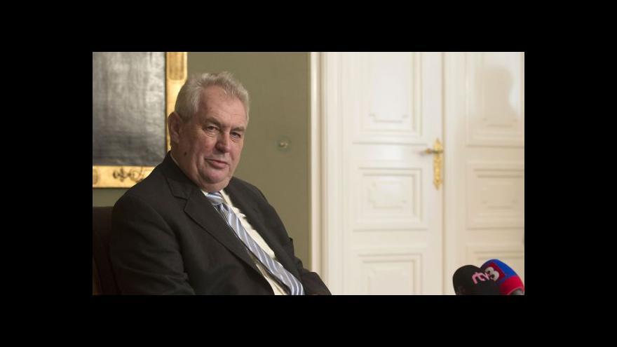 Video Zeman: Konec toku plynu přes Ukrajinu Česko neohrozí
