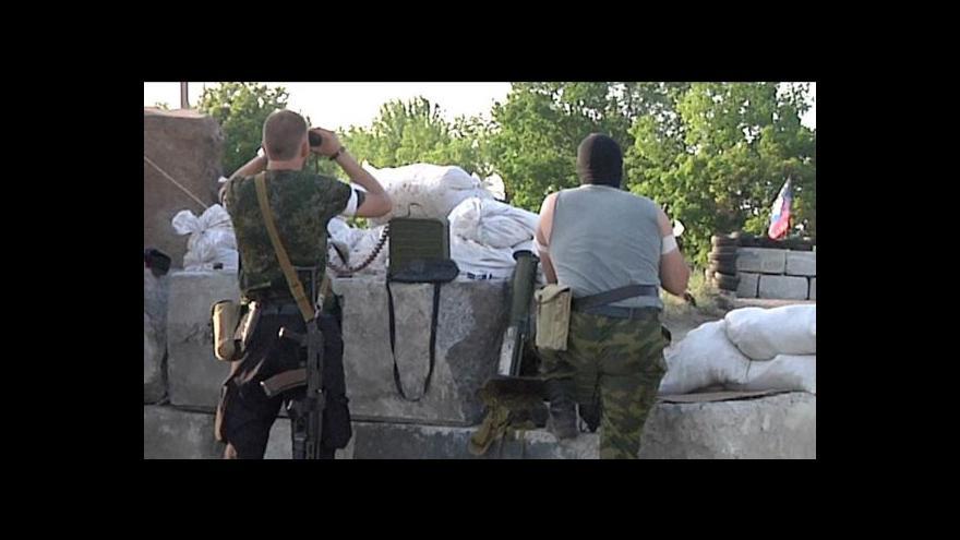Video Ukrajinští i proruští vojáci: Hájíme zájmy lidu