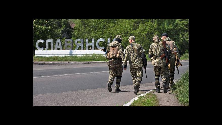 Video Zástupci Achmetova se dohodli s povstalci na zajištění pořádku