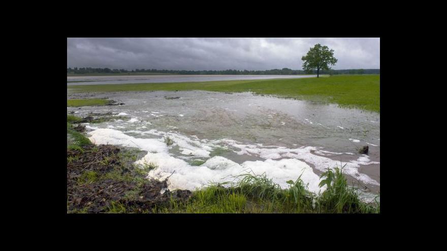 Video Tajemník povodňové komise: Noc byla klidná