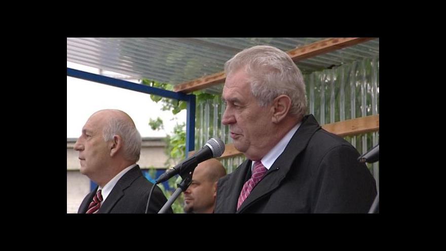Video Miloš Zeman bude vetovat senátní návrh zákona o NP Šumava