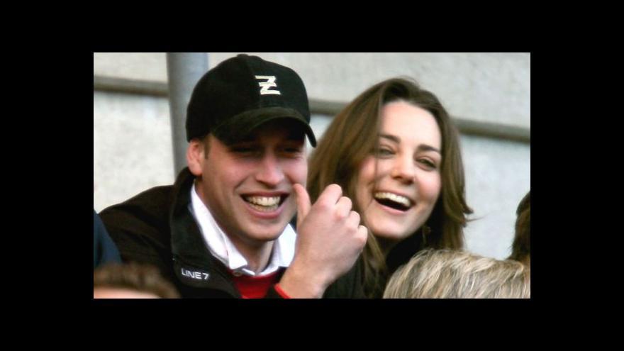 Video Britský bulvár odposlouchával Kate s Williamem
