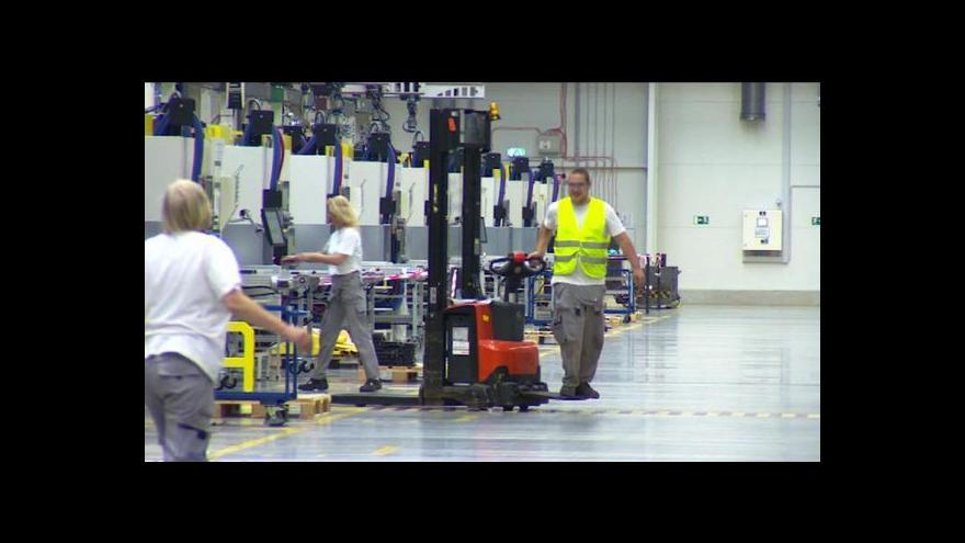 Video Johnson Controls otevřela závod v České Lípě