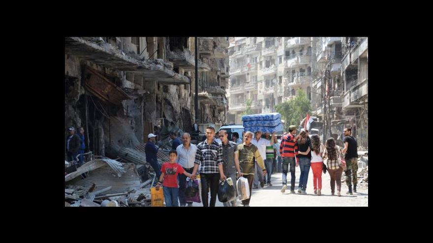 Video Kvůli ukrajinské krizi svět poněkud opomíjí Sýrii