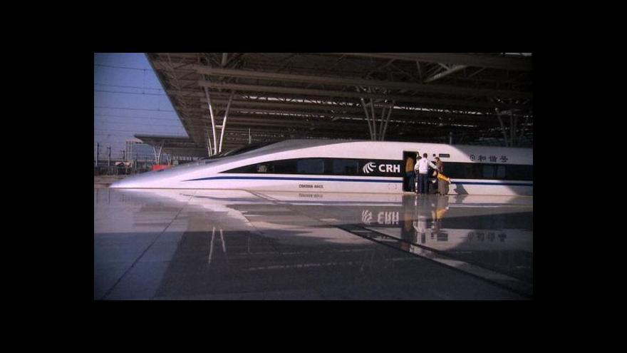Video Vysokorychlostní železnice spojí Prahu a Brno s Německem a Rakouskem