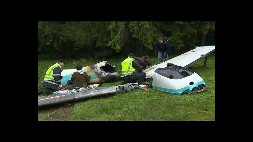 Video NO COMMENT: Rozsáhlé cvičení simulovalo pád letadla