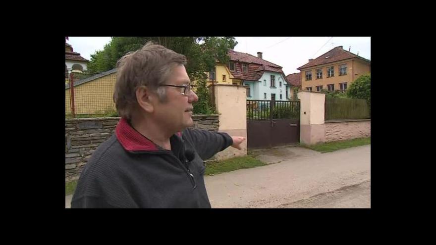 Video O potížích s povodněmi hovoří starosta Podhradí  Oldřich Tesárek (nez.)