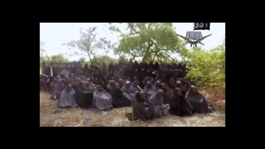 Video Nigérie nechce měnit unesené dívky za vězně