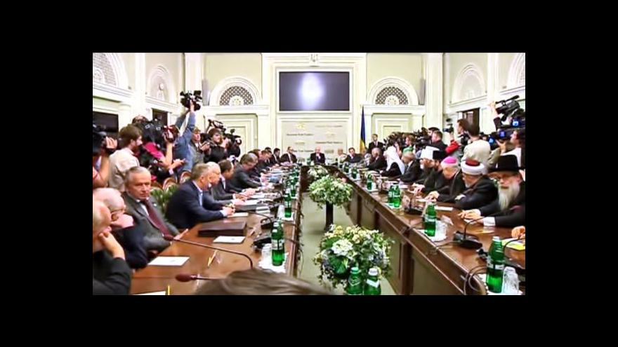 Video Jednání u kulatého stolu bez účasti separatistů