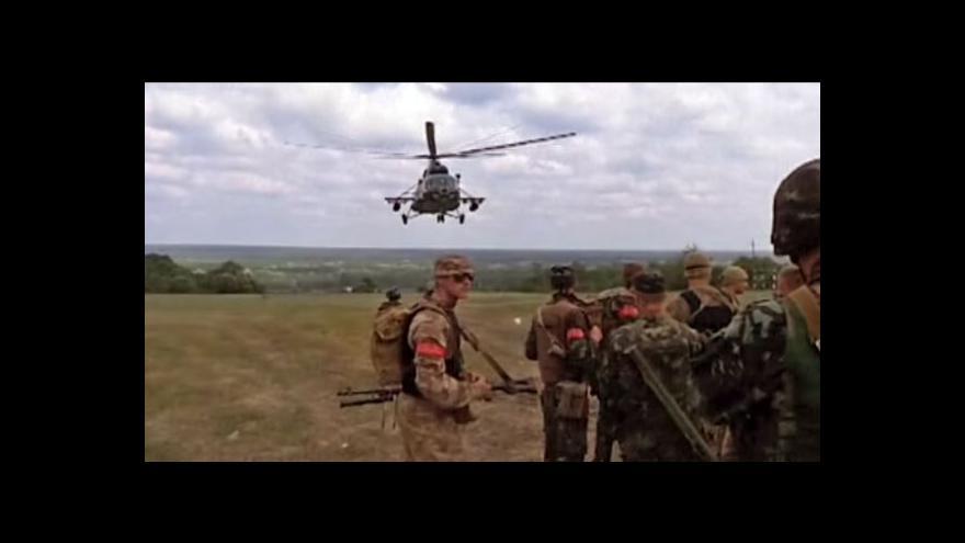 Video Armáda zaútočila na vzbouřence u Kramatorsku