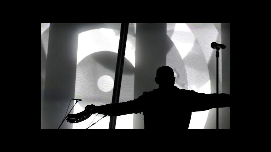 Video Peter Gabriel vystoupil v Ostravě