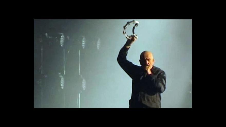 Video Peter Gabriel koncertoval v Ostravě