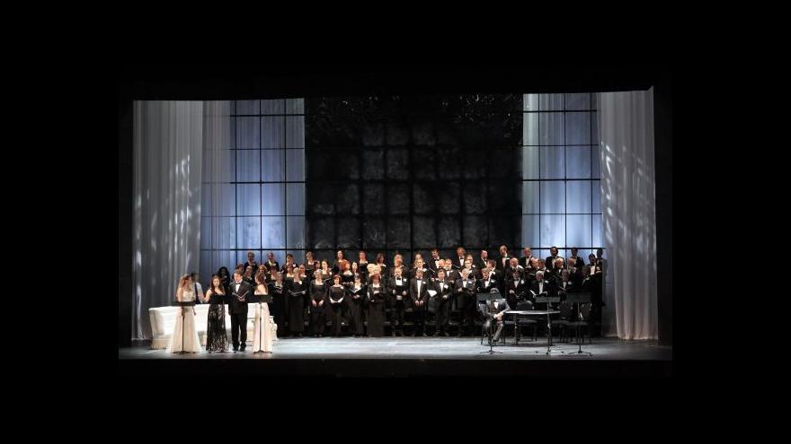 Video Státní opera uvádí Pucciniho Vlaštovku