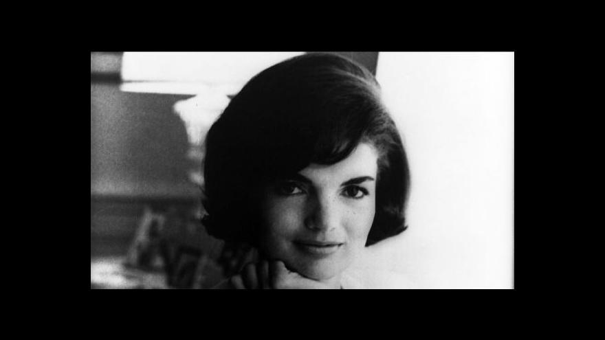 Video Sís: Setkání s Jackie Kennedyovou bylo jedním z nejhezčích během pobytu v Americe