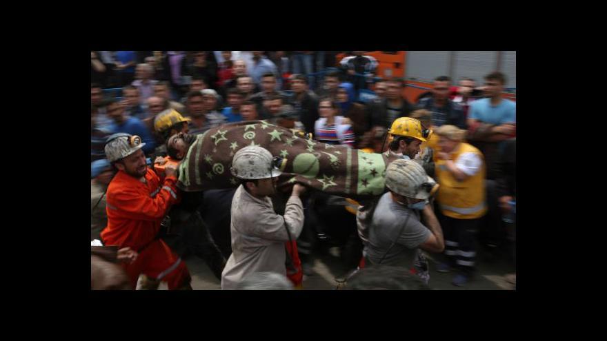 Video Události: Turecko truchlí, v dole zemřelo přes 200 horníků