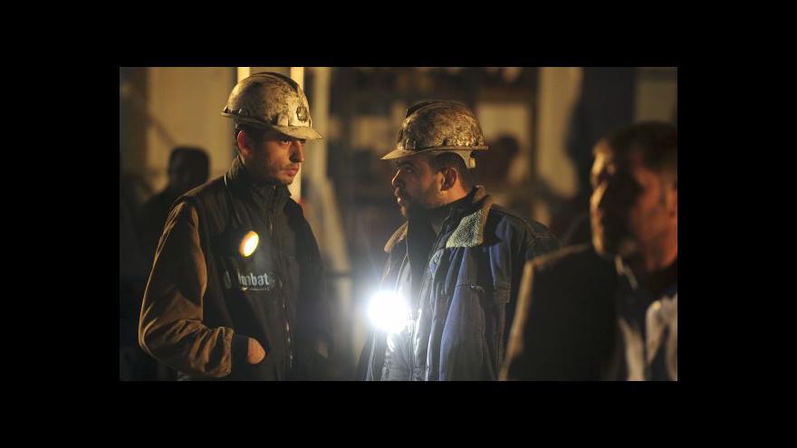 Video Čeští experti k tureckému neštěstí: Hlubinné hornictví je vysoce rizikové povolání
