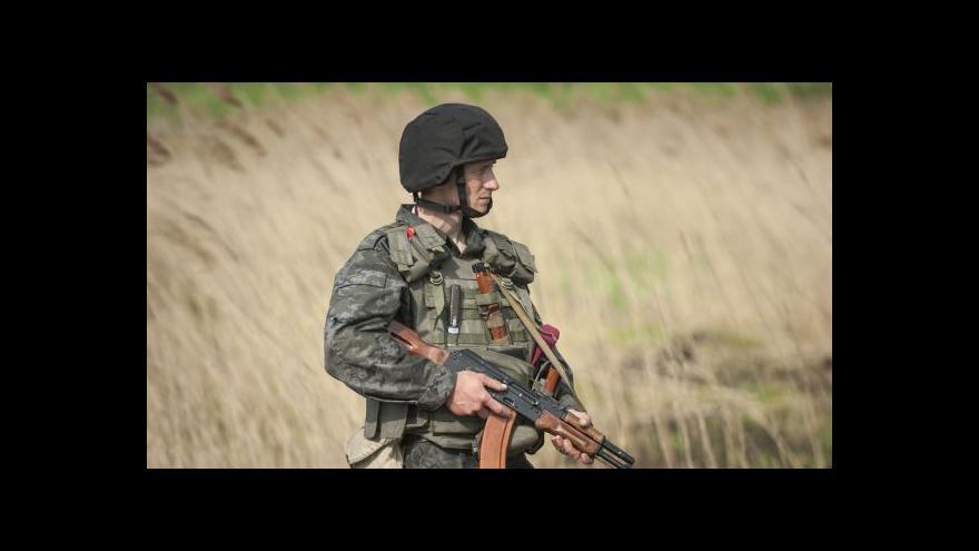 Video Události: Ukrajinští vojáci padli u Kramatorsku do léčky