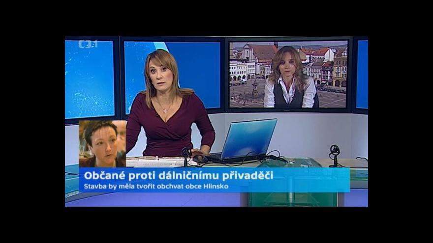 Video Debata Lenky Střítecké a Ivany Popelové o Hlinském přivaděči