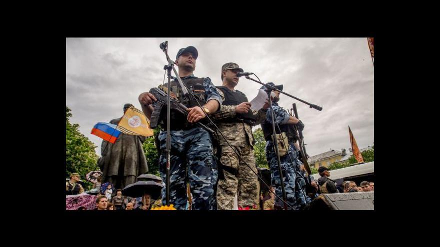Video Ukrajinistka Víchová: Kyjev nemá s kým jednat
