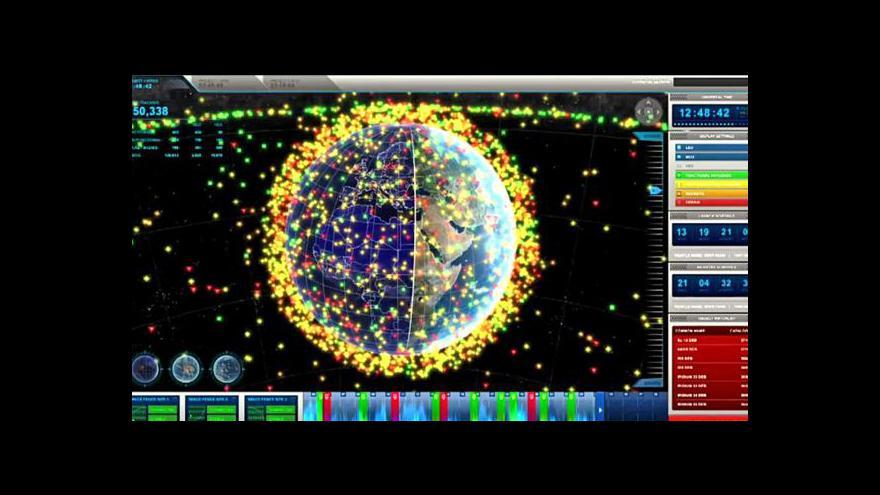 Video NASA vyvíjí ochranu proti vesmírnému smetí