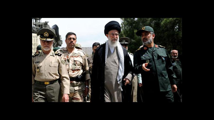 Video Horizont ČT24: Írán ukazuje svou agresivní tvář
