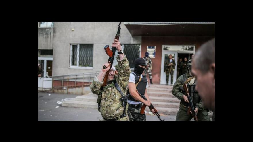 Video Bez komentáře: Nedělní střety v Krasnoarmijsku