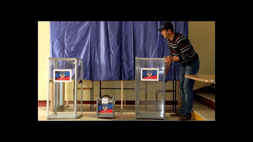 Video Zeman: O legitimitě referend na východě Ukrajiny nelze hovořit