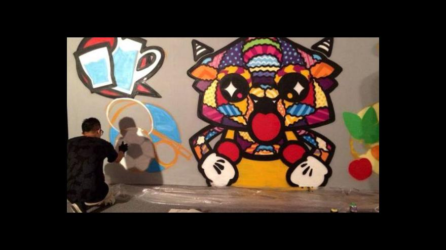 Video Graffiti coby učebnice