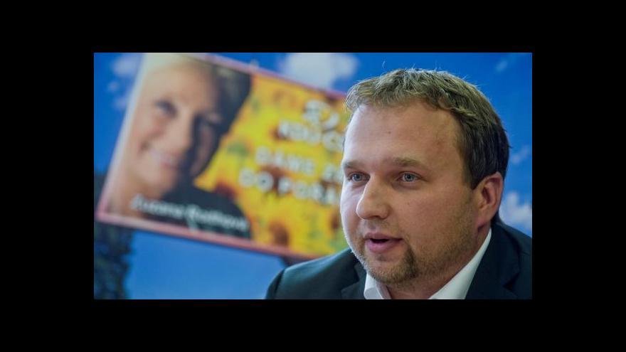 Video Marian Jurečka v Otázkách Václava Moravce