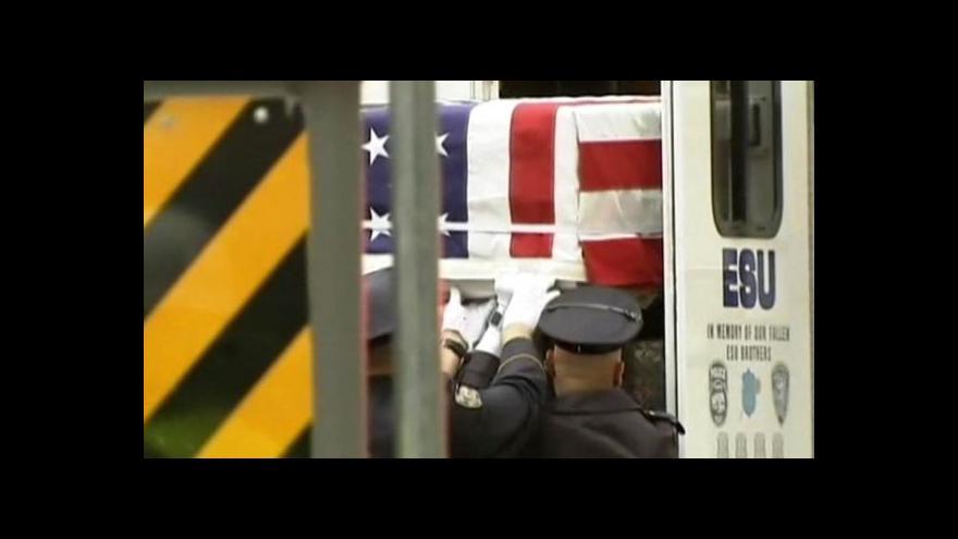 Video Pod Ground Zero budou pohřbena těla obětí