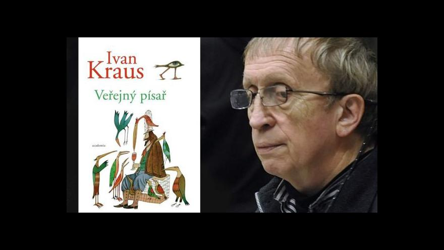 Video Ivan Kraus: Píšu místo návštěv u psychiatra