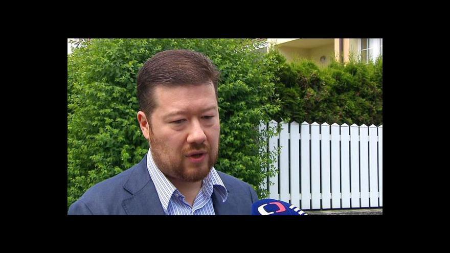 Video Události: Samková nebude lídr Úsvitu pro eurovolby