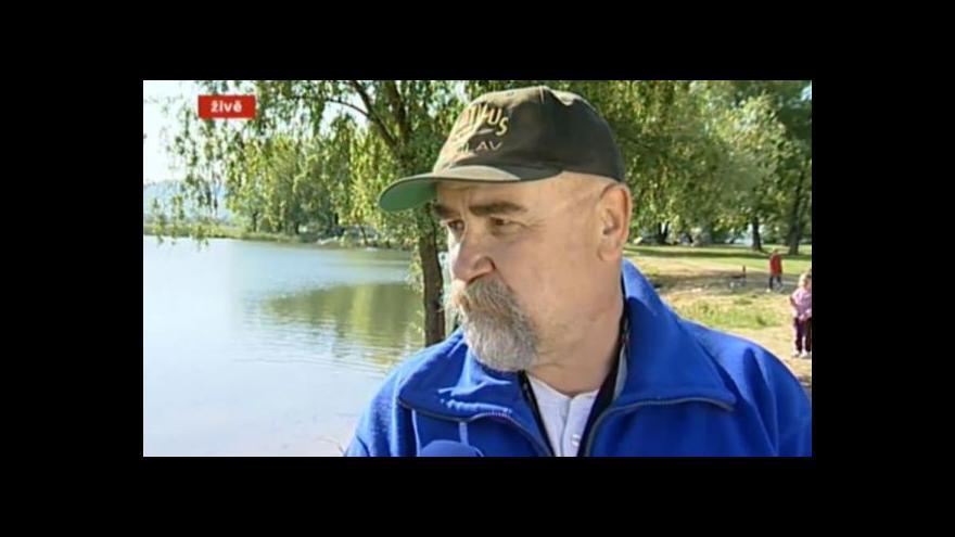 Video Rozhovor s organizátorem akce EKO potápěč Milanem Vojtou