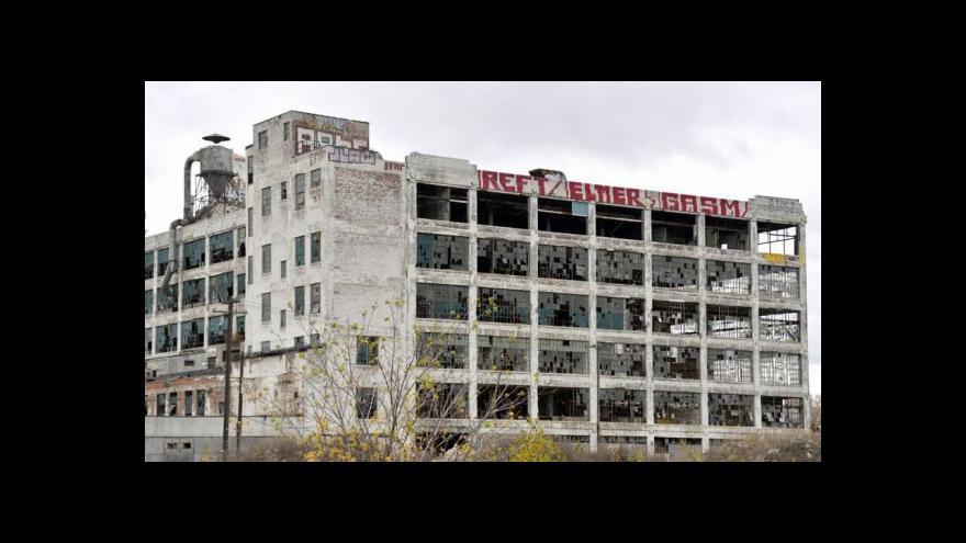 Video Detroit hledá nové obyvatele