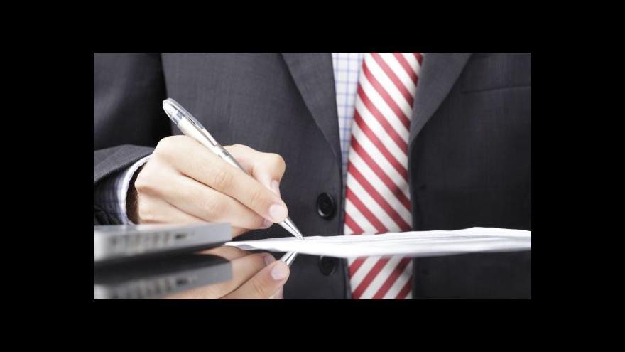 Video Plán přijetí některých zákonů pokulhává