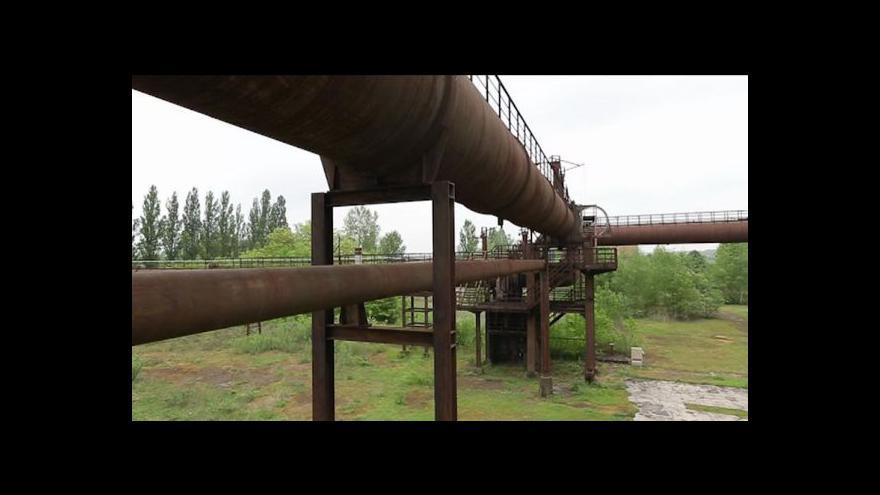 Video Lotrinsko jako pohřebiště průmyslových areálů