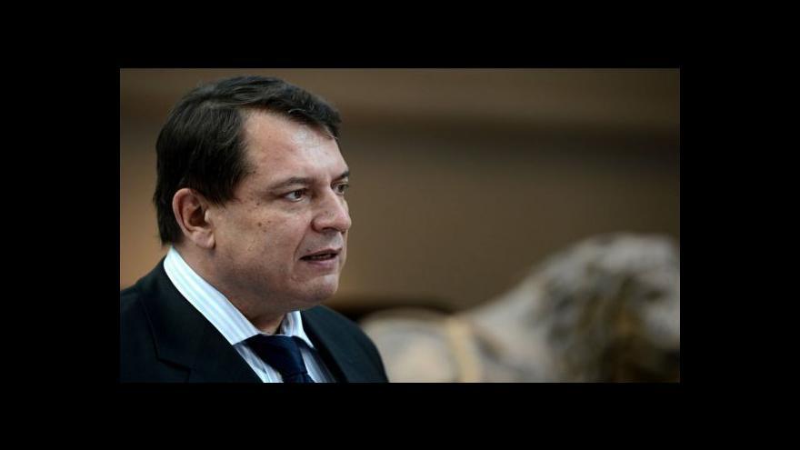 Video Paroubek: Prioritou je zaměstnanost, federalizace může přijít později