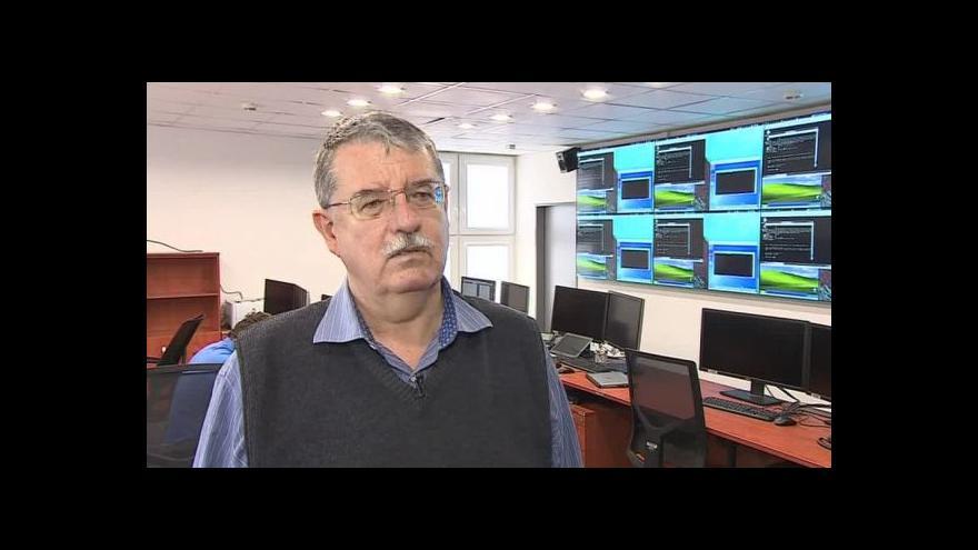 Video O brněnském kybercentru hovoří ředitel NBÚ Dušan Navrátil