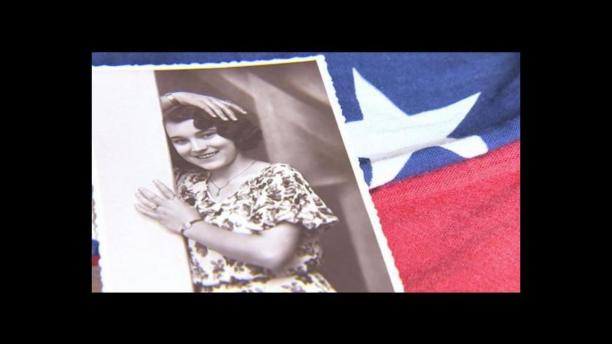 Video Americká vlajka z Litomyšle po 70 letech přivítá své vojáky