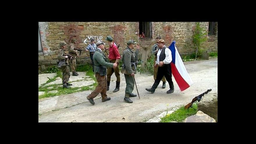 Video Rekonstrukce bojů u pevnosti Radíkov