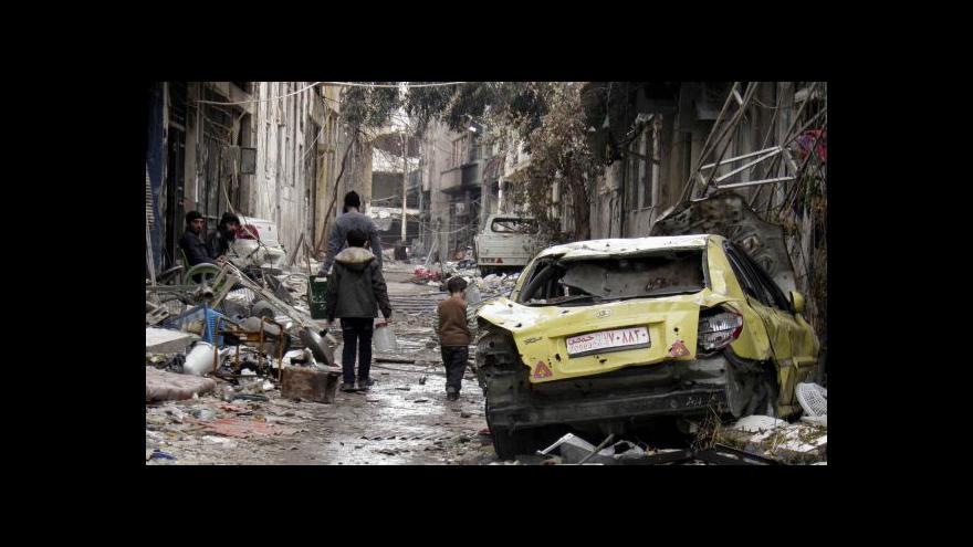Video Jakub Szántó: Z Homsu už se stahují povstalci