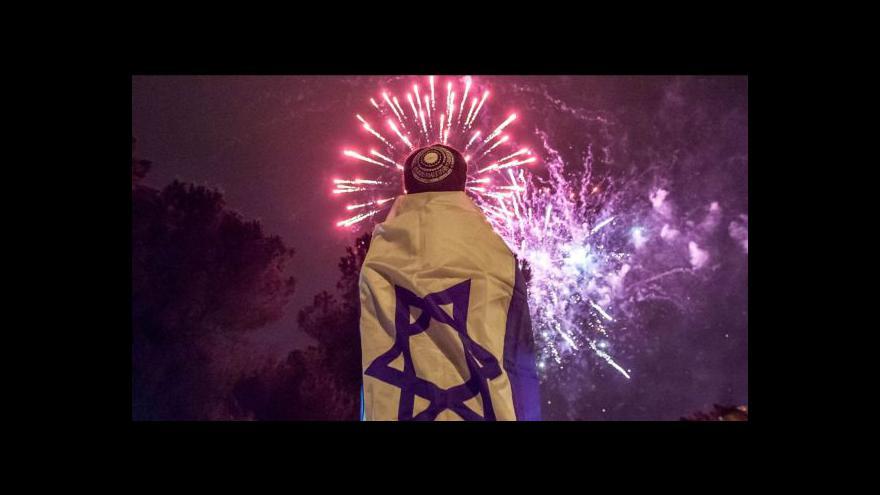 Video Izrael si připomněl Den nezávislosti