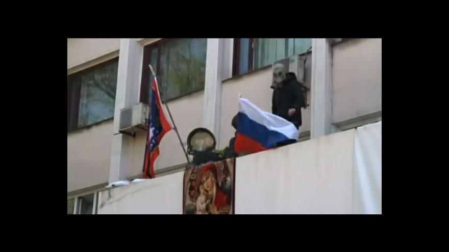 Video Putin vyzval separatisty k odkladu referenda (23:00)