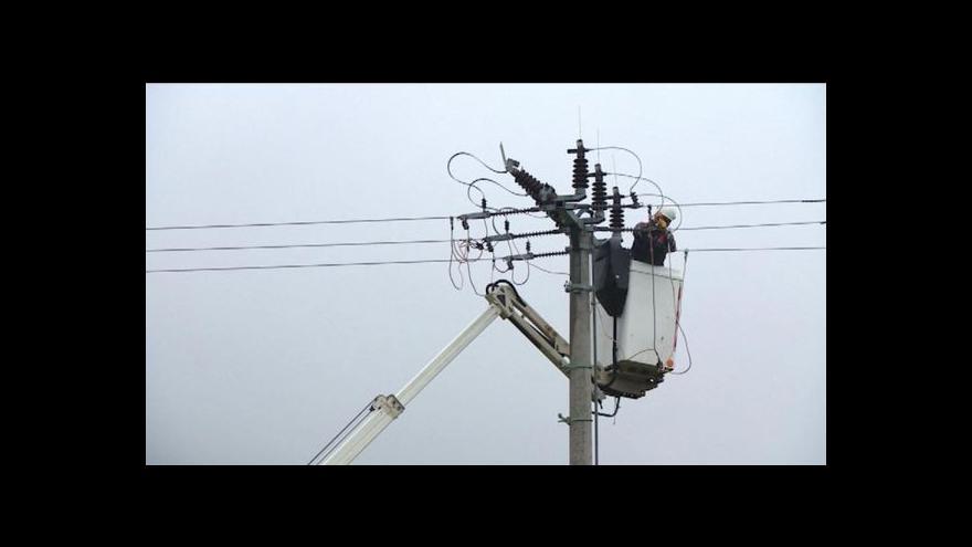 Video Žacléř se musel obejít den bez elektřiny