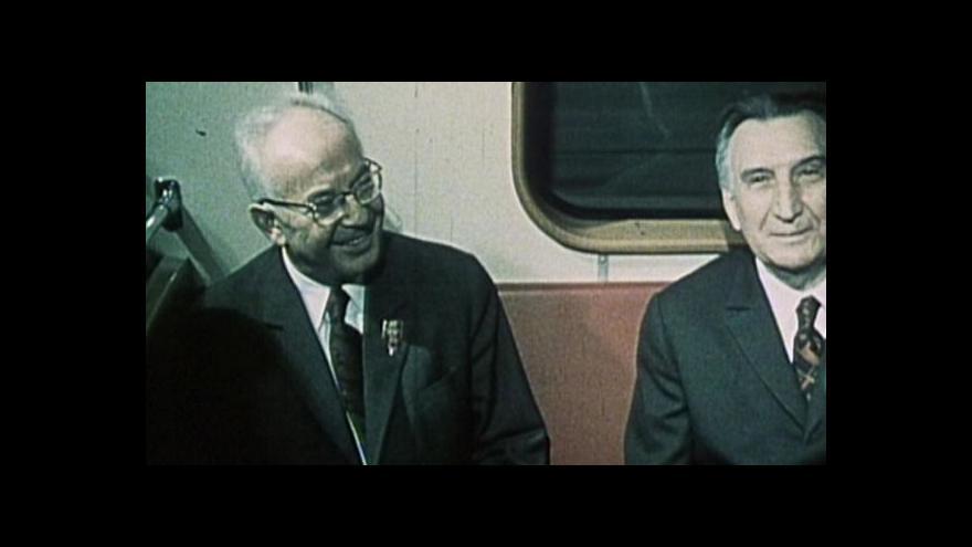 Video NO COMMENT: Otevření pražského metra v květnu 1974