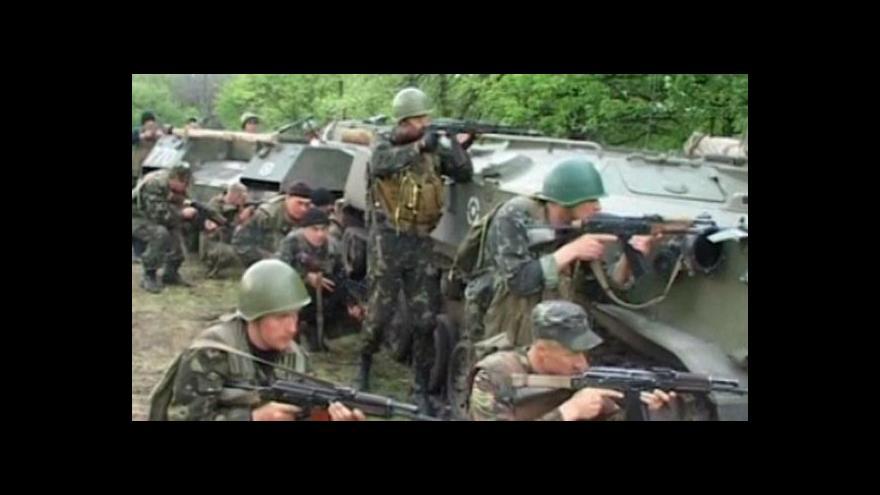 Video U Slavjansku se znovu bojuje