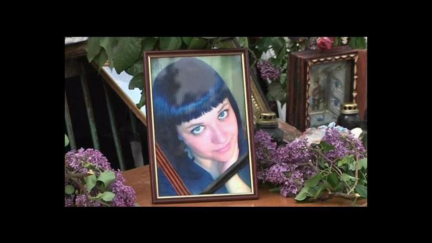 Video Kramatorsk má svou mučednici