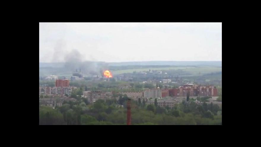 Video Události: Boj o Slavjansk má více než dvacet obětí