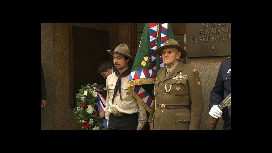 Video Výročí konce války provází pietní akce po celém Česku
