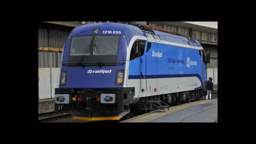 Video Události: První jízda rychlovlaku Railjet